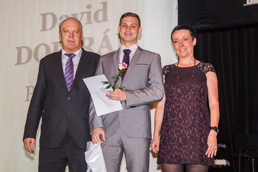 Vyhlášení Sportovce roku 2013 v Domažlicích.