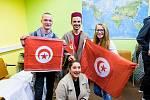 Studenti z ciziny na domažlické obchodní akademii.