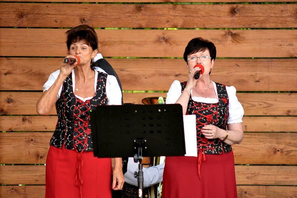 Jedenáctý dechovkový festival v Tlumačově.