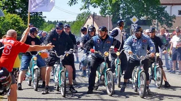 Letošní Mopedscuk se bude v Rybníku konat od 15. do 17. července