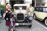 Jízda spolehlivosti historických vozidel.
