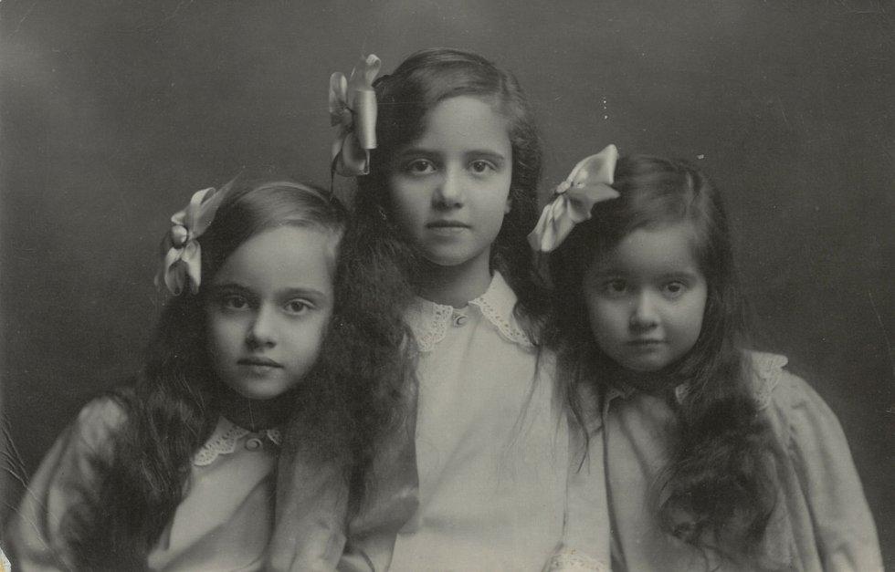 Anna, Tereza a Gabriela - dcery Karla Jana Trauttmansdorffa.