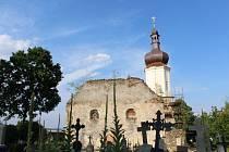 Současný stav kostela.