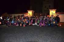 POSLEDNÍ LETOŠNÍ VELKOU AKCÍ,kterou uspořádali Mladí hasiči se Sborem dobrovolných hasičů v Horšovském Týně, byla v sobotu 18. listopadu Halloweenská párty.