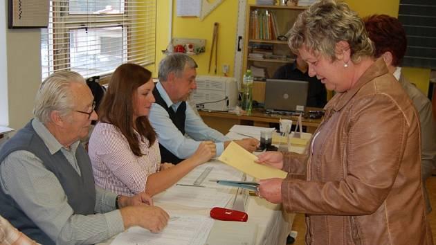 Volby v Domažlicích. Ilustrační foto