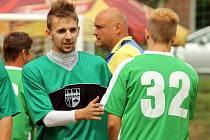 Turnaj v malé kopané pořádaný FC Traktorem Holubeč.