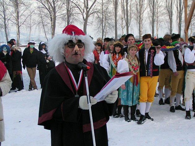 Masopust v Postřekově.