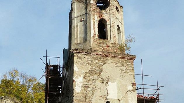Kostel svatého Mikuláše v Šitboři.