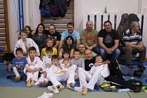 Spokojená a úspěšná výprava domažlických judistů v Blovicích.