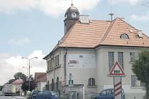 Stará holýšovská radnice.