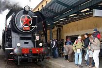 Parní lokomotiva, kterou každý zná pod názvem ´Šlechtična´.