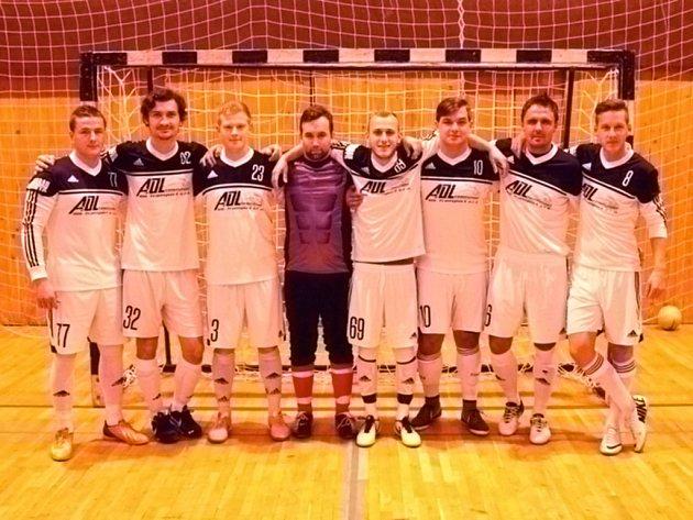 Z futsalového derby mezi Del Fuego FC Holýšov a SK Bomber Domažlice.