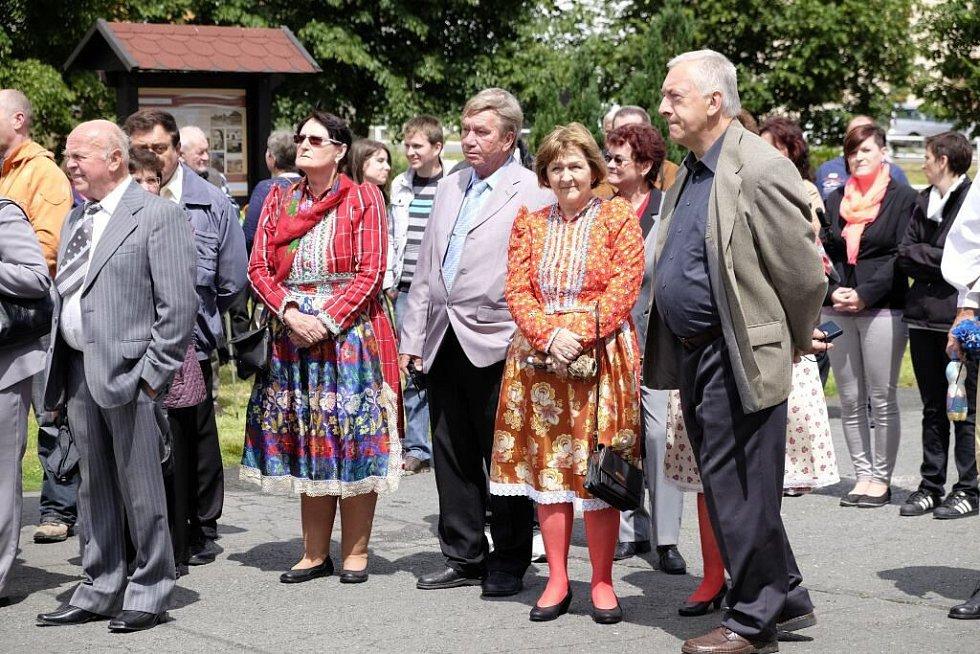 Sraz rodáků v Milavčích.
