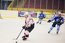 Nevyšlo to. Hokejisté Domažlic po domácí výhře 5:4 prohráli odvetu čtvrtfinále play-off krajské ligy s klatovskou rezervou 5:6 a nepostoupili na nájezdy.