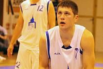Z domácího utkání basketbalistů Jiskry Domažlice s BCM Lokomotiva Plzeň B.