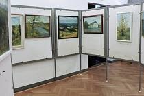 Obrazy Rudolfa Jankovce již byly ve Kdyni k vidění.
