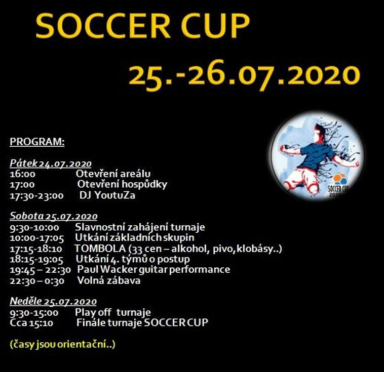Soccer Cup 2020: program.