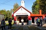 Ždánovští slavnostně otevřeli hasičskou zbrojnici po rekonstrukci.