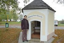 Jana Jankovcová se o kapličku na Baldově stará už osm let.