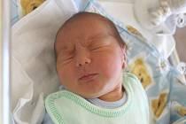 Lukáš Váchal z Domažlic (4110 g, 50 cm) se narodil 16. února ve 2:19 v Domažlické nemocnici mamince Monice a tatínkovi Jiřímu. Pro svého synka vybírali jméno společně. Že se jim narodí chlapec věděla rodina dopředu.