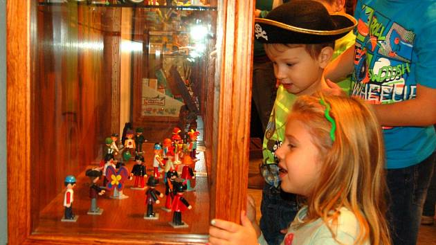 Výstava Igráčků končí v Domažlicích 13. ledna.