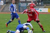 Z utkání Jiskry Domažlice a FK OEZ Letohrad.