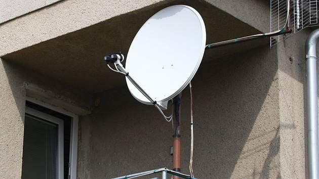 Satelit. Ilustační foto