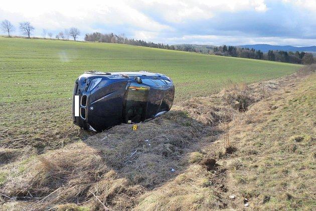 Dopravní nehoda u Draženova.
