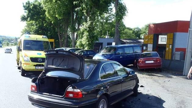 Nehoda u Kdyně.