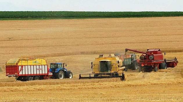 Zemědělská technika, hlavně kombajny, zůstává často přes noc na polích a stává se terčem útoků zlodějů pohonných hmot.