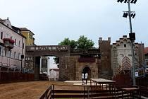 Náměstí ve Furthu im Wald se opět změnilo v obrovský amfiteátr.