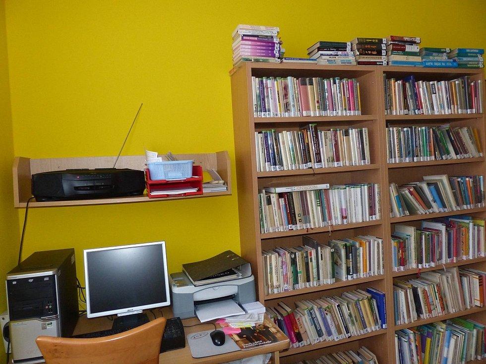 Knihovna a veřejný internet pro občany.
