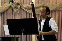 Jedním z účastníků letních hudebních kurzů byl i Aldo Velasquez.