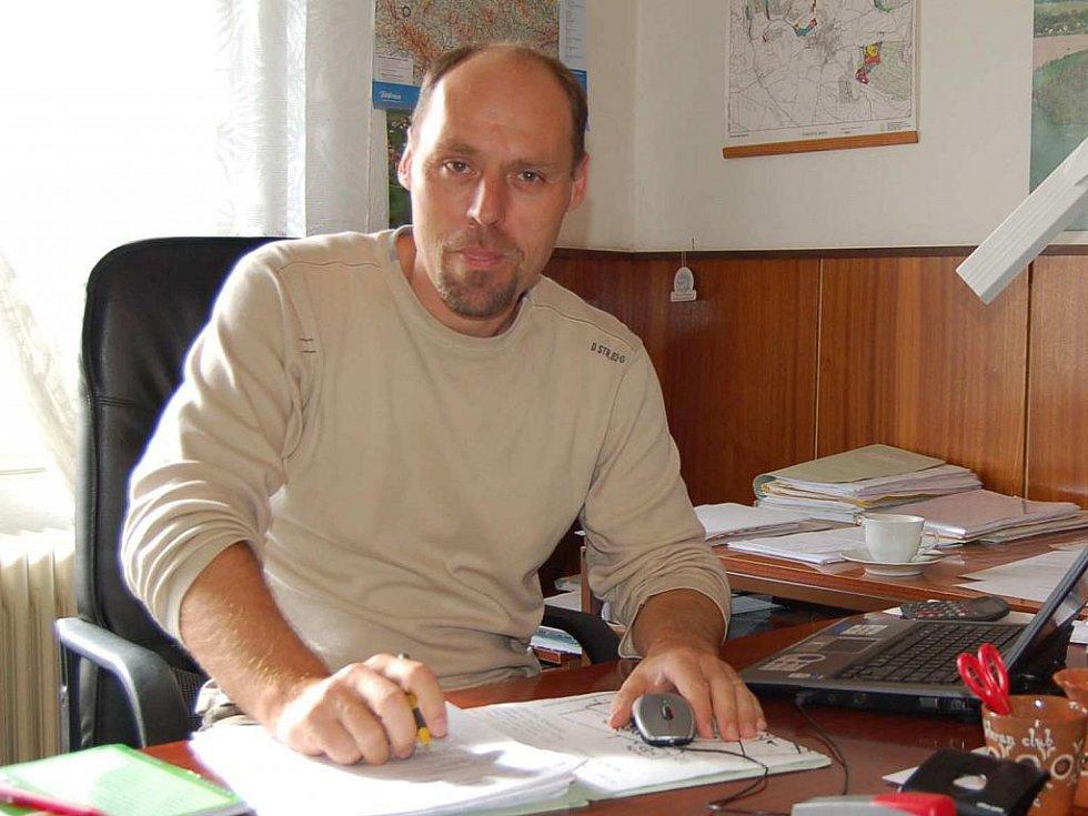 Václav Pergl, starosta Kolovče.
