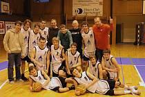 Basketbalisté Jiskry Domažlice U19.