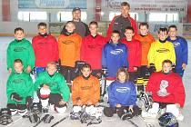 Součástí soustředění HC Domažlice na Hrádku u Újezda byly i tréninky na zimním stadionu v Domažlicích..