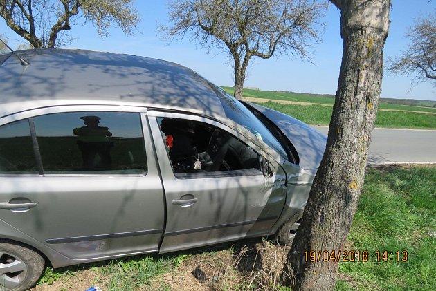 Škoda na havarovaném vozidle Škoda Octavia byla vyčíslena policií na částku 70tisíc korun.