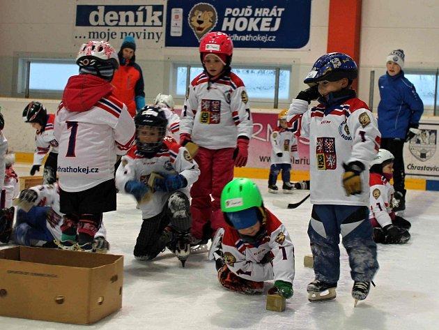 HC Domažlice spolu s hokejovým svazem pořádal náborovou a prezentační akci Pojď hrát hokej!