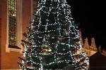 Rozsvícený stromeček. Foto: J. Pojar