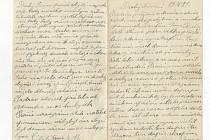 Dopis Janu Vondrašovi.
