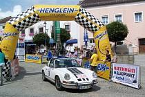 Start Rallye bude v pátek v 15 hodin na náměstí v Bad Kötztingu.