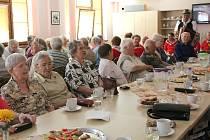 Setkání seniorů z Domažlic a Furthu se konalo už podvanácté.