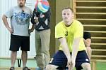 Volejbalisté Jiskry si zahráli 1. kolo Českého poháru ve volejbalu.