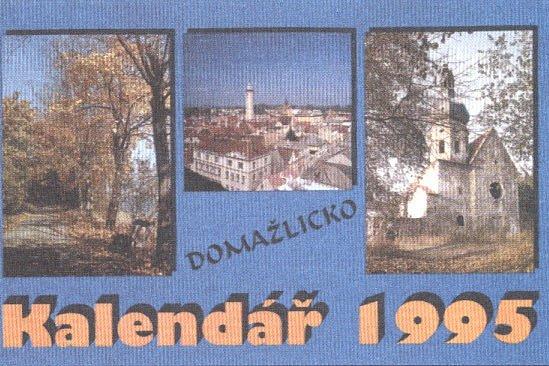 První kalendář zroku 1995.