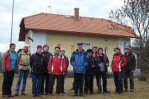 Domažličtí turisté vyrazili na výšlap z Hostouně do Bělé.