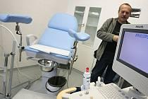 Ilustrační foto: Z ordinace gynekologa.
