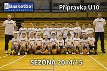 Basketbal Jiskra Domažlice U10.