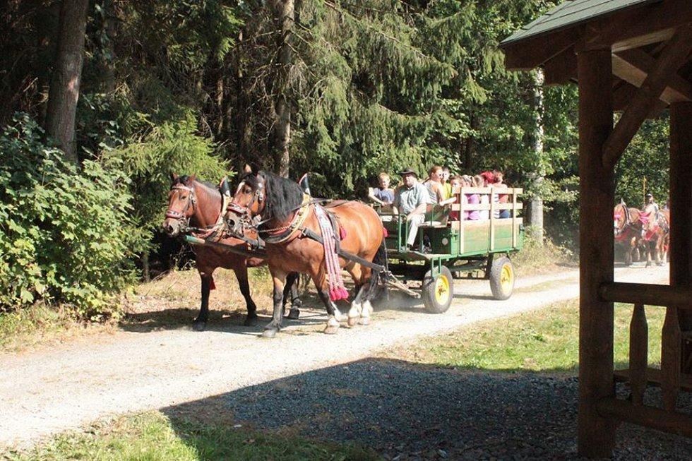 Ze sobotního otevření naučné stezky v přírodním parku Zelenov.
