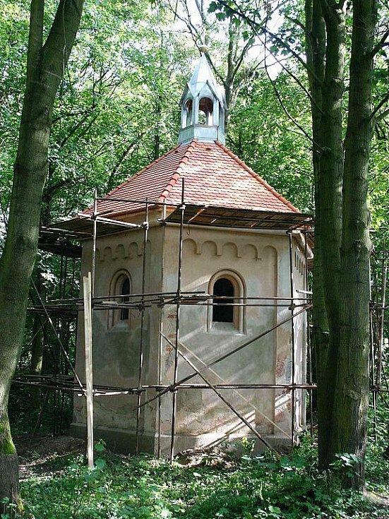 Kaple Sv.Anny s novou střechou