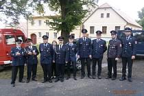 Hasičské oslavy a řezbářské sympozium v Klenčí.